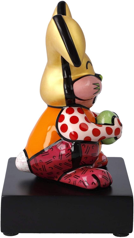 "Goebel Figur Romero Britto - ""Orange Rabbit"" Romero Britto Bunt Porzellan 66452781"