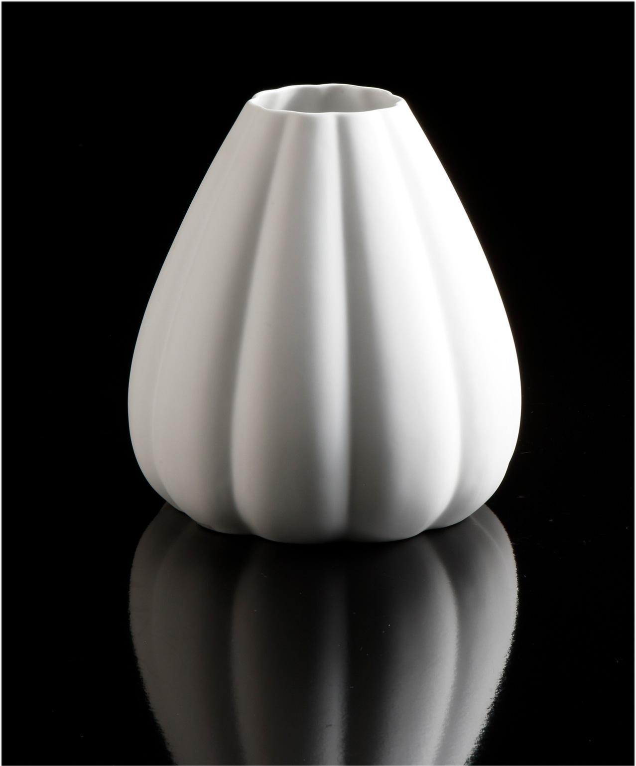 Das weiße Gold von Kaiser Porzellan - hochwertig, attraktiv, zeitlos, funktionell und nachhaltig - für den guten Geschmack und die vielen kleinen und großen festlichen Momente des Lebens. Vase - Convex