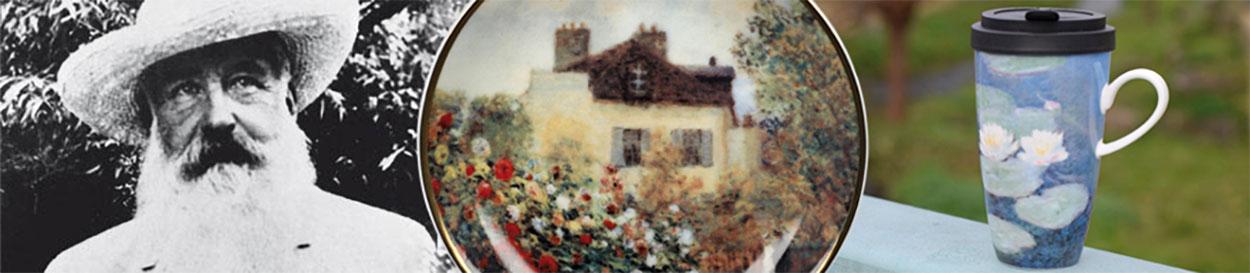 Claude Monet Banner