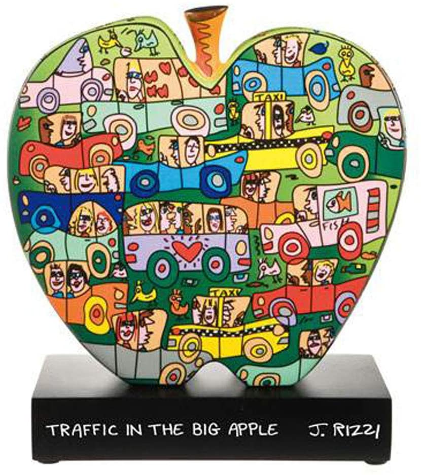 Goebel Traffic in The Big Apple - Figur Pop Art James Rizzi Bunt Porzellan 26102301
