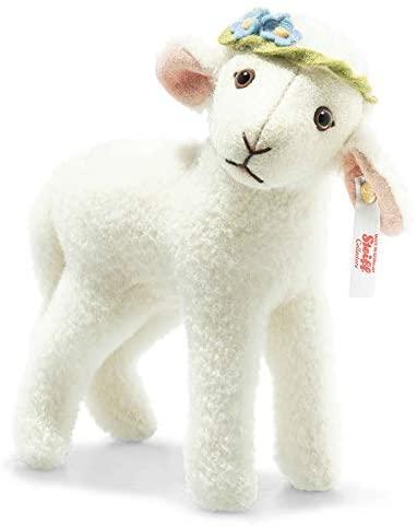 Lia Lamm weiß 15 cm aus Wollplüsch 007019 limitierte Edition 1.500 Stück