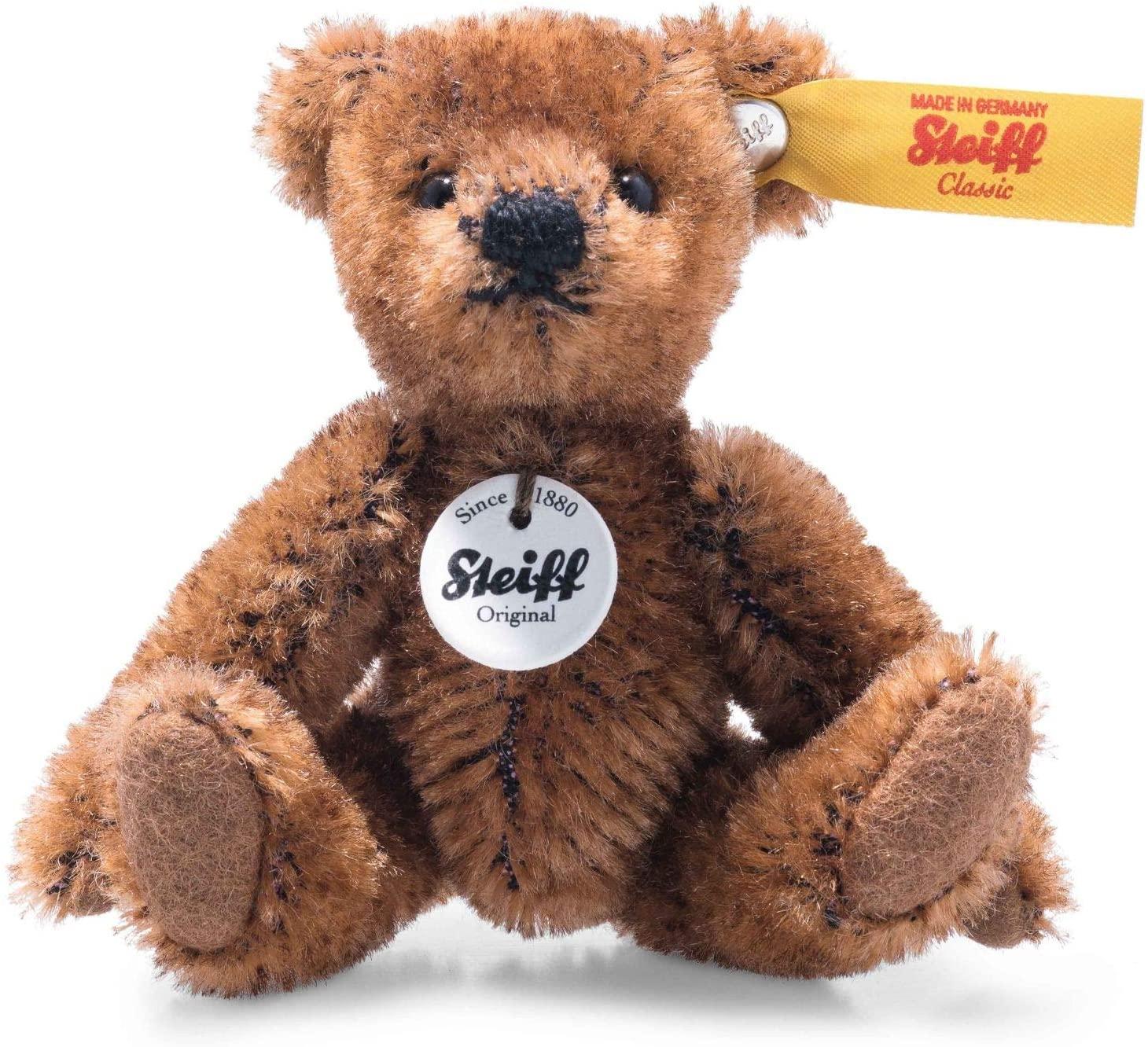 028151 Mini Teddybär 9 braun Sammlerartikel kein Spielzeug abwaschbar braun (028151)