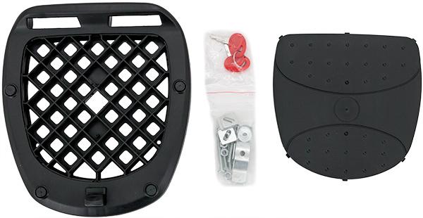 Razory grosses TopCase K48 TopCase für 2 Helme Montageplatte