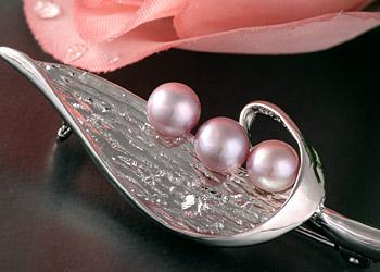 Süßwasser Zucht-Perlen-Kette 5-reihig -weiß-