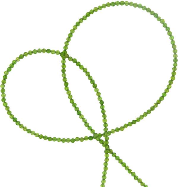 • Durch den handgefertigten Schliff erhält die Kette Ihre geheimnisvolle Brillanz und Strahlkraft. Selbstverständlich ist jede Kette in Unikat für sich. • Durchmesser ca. 1-1.5mmmm, Länge ca. 45 cm. • Der dünne, verwendete Schmuckdraht unterstütz die Form und die Kette passt sich perfekt der Hals Form an. Egal was immer Sie tragen, ob elegant, sportlich oder festlich. Chromdiopsid harmoniert immer mit Ihrer Garderobe. • Schließe in 925 Silber • Chromdiopsid ist ein Naturstein. Wir verkaufen hier keine Plastik- oder Glasperlen. Daher ist es auch völlig normal, wenn nicht alle Steine absolut identisch sind. Auch kleine Vertiefungen könne vorkommen uns sind kein Mangel.