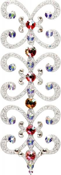 Florence 4 Silber-Kristall AB 1016010DE Körperschmuck Swarovski Crystall AB