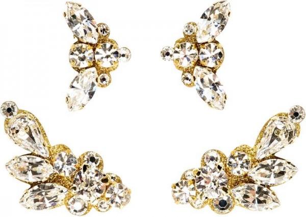 Anne Gold-Kristall 1016023DE Körperschmuck Swarovski Crystal