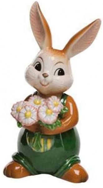 Goebel HaseTanz mit Mir Ostern Deko mit Blumen 66844421