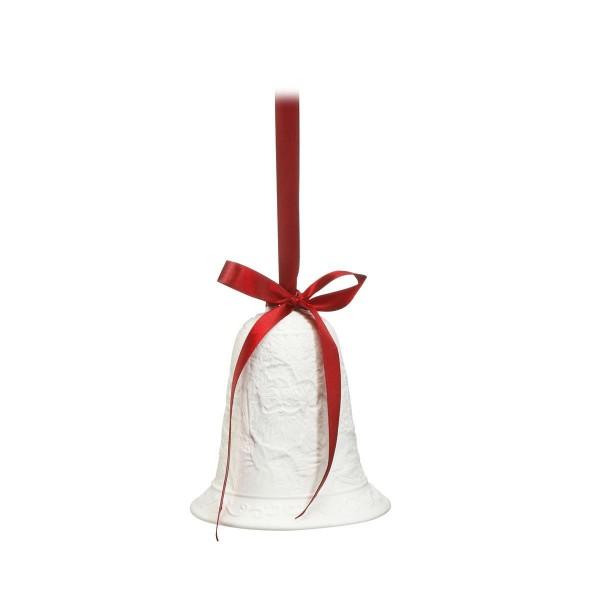 Glocke Santa Bunt Fitz & Floyd Christmas Collection Goebel 51001101