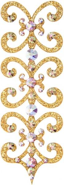 Florence 7 Gold-Kristall AB 1016026DE Körperschmuck Swarovski Crystal AB