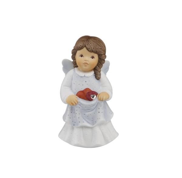 Goebel Schutzengel Figur Porzellan Mehrfarbig 4.5x4x8 cm Herzlichen Glückwunsch 11749221