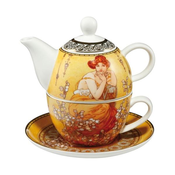 Goebel Topas - Tea for One Teekanne & Teetasse Multifunktions Set 67013591