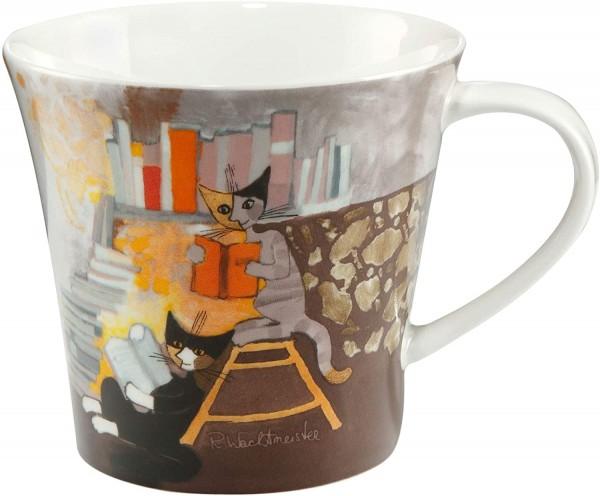 Goebel Clara e Tazio leggono - Coffee-/Tea Mug Rosina Wachtmeister Katze 66860491