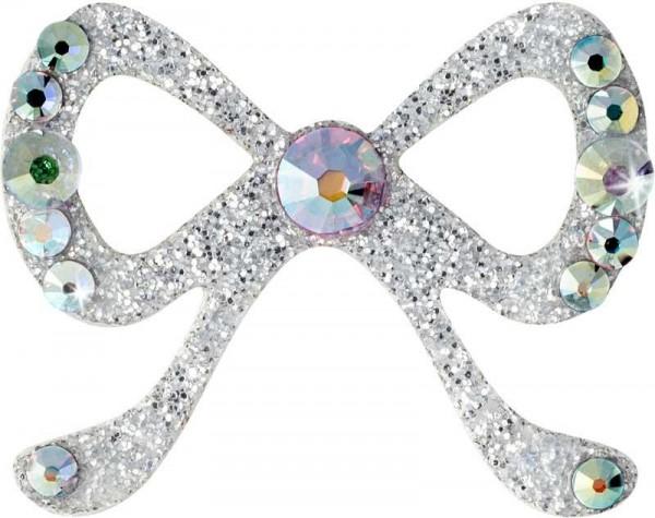 Elegance 2 Silber-Kristall AB 1016058DE Körperschmuck Swarovski Crystal