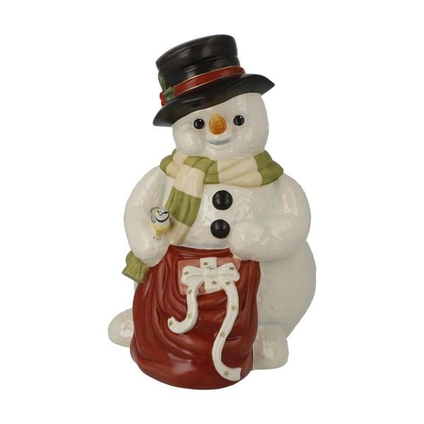 Geschenke zum Fest Bunt Schneemänner Goebel 66703621