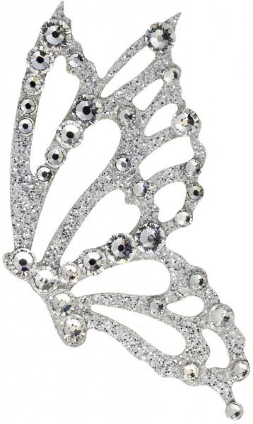Freedom 2 Silber-Kristall 1016006DE Körperschmuck Swarovski Crystal