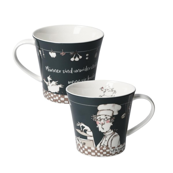 Männer sind unwider... - Coffee-/Tea Mug Bunt Barbara Freundlieb Goebel 27000811