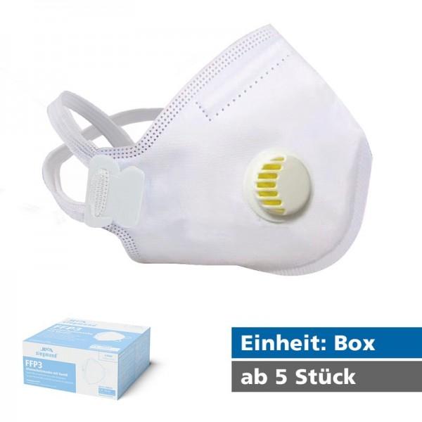 FFP3 Atemschutzmaske mit Ventil - JFM04V