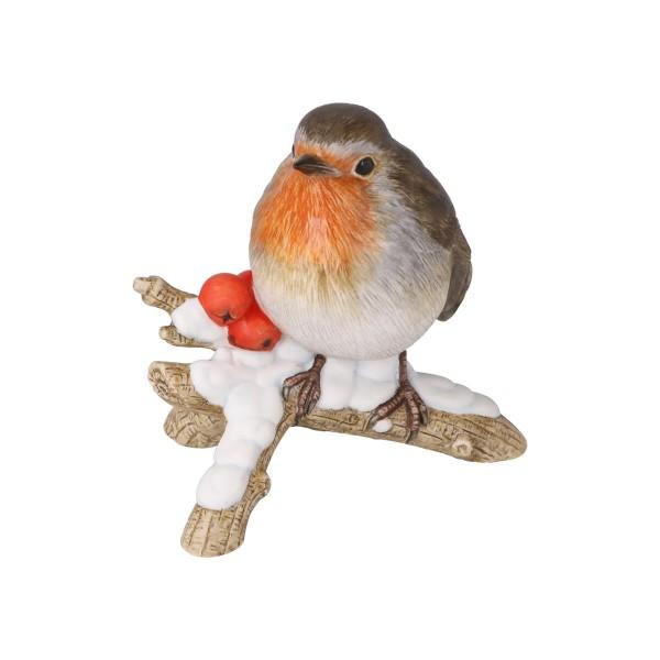 Figur Vogel des Jahres 2021 Rotkehlchen Bunt Coll. Vögel Goebel 38473241
