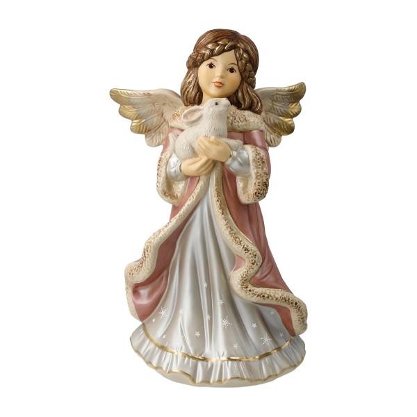 Goebel Engel mit Hase Kleiner Kuschelfreund 25 cm Porzellan 41633651