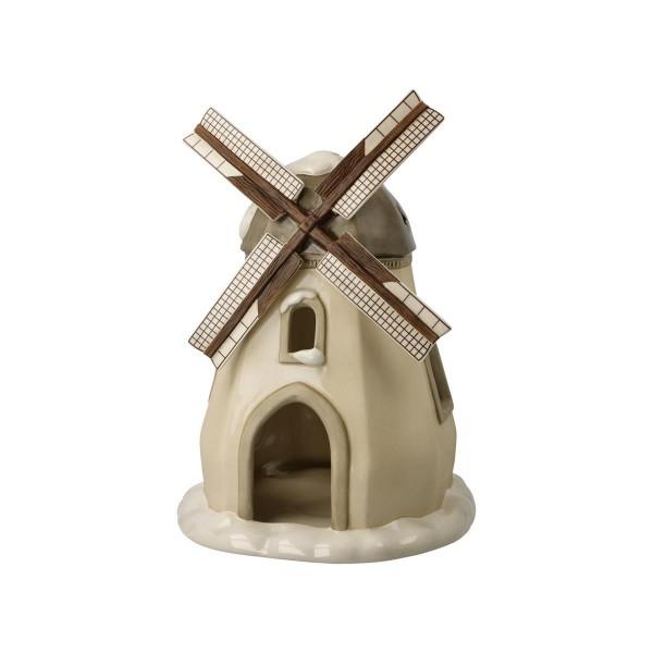 Verschneite Windmühle Bunt Winterwald Goebel 66703811