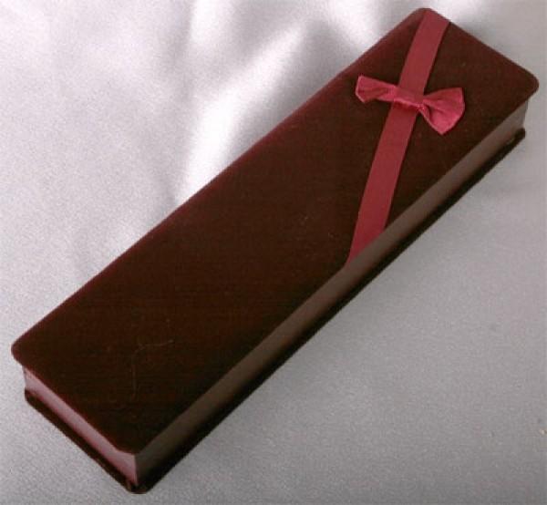 Geschenkbox Bordeaux Rot Kette, Collier oder Schmuckset NEU