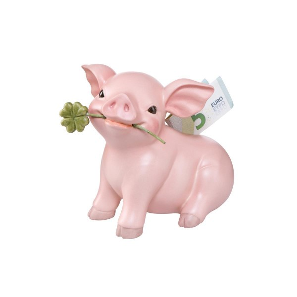 Glücksschwein - Spardose Bunt Glücksbringer Goebel 10638141