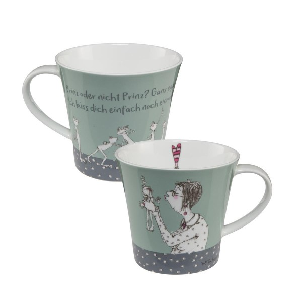 Prinz oder nicht - Coffee-/Tea Mug Bunt Barbara Freundlieb Goebel 27000041