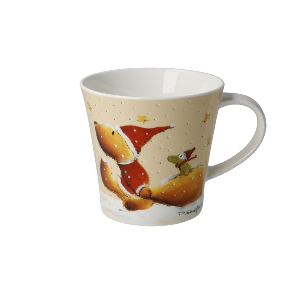 Wintertime Friends - Coffee-/Tea Mug Bunt Peter Schnellhardt Goebel 26500211
