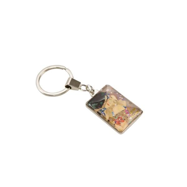 Der Kuss - Schlüsselanhänger Bunt Gustav Klimt Goebel 67051031