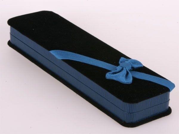 Geschenkbox Blau Kette, Collier oder Schmuckset NEU