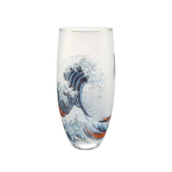 Die Welle - Vase Bunt Katsushika Hokusai Goebel 66909241