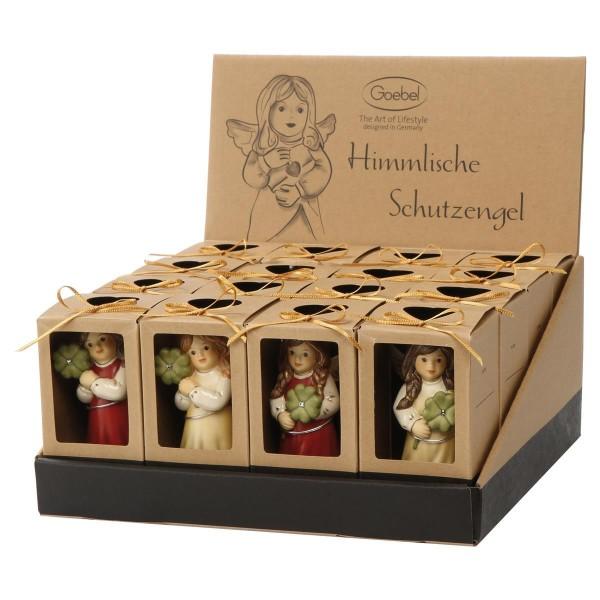 Thekendisplay sortiert Himmelsboten Champagner Himmelsboten Goebel 66715061