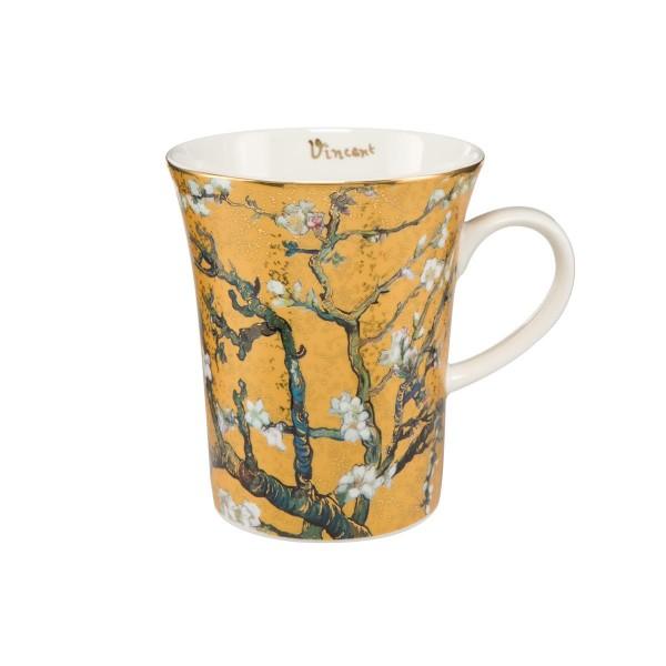 Mandelbaum Gold - Künstlerbecher Silber Vincent van Gogh Goebel 67011061