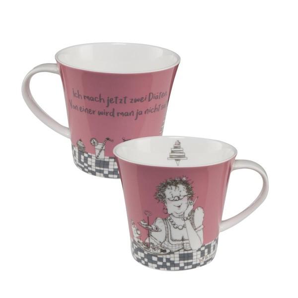 Zwei Diäten - Coffee-/Tea Mug