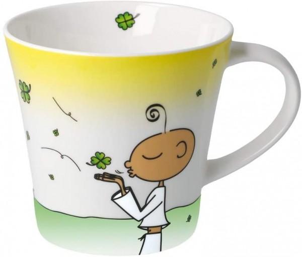 Goebel DER KLEINE YOGI: Kaffee-/Teetasse - Glückstasse Coffee-/Tea Mug 54101271