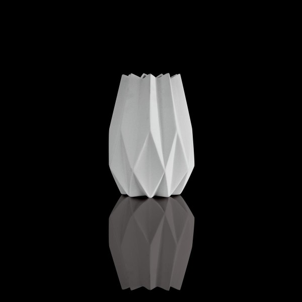 Göbel Kaiser Porzellan Vase Biskuit-Porzellan 21.5 cm - Polygono Star 14003741