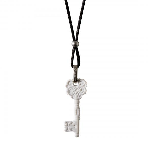 Goebel Kaiser Porzellan Kettte Schlüssel - Biskuit-Porzellan Swarovski Kristallen 14004061