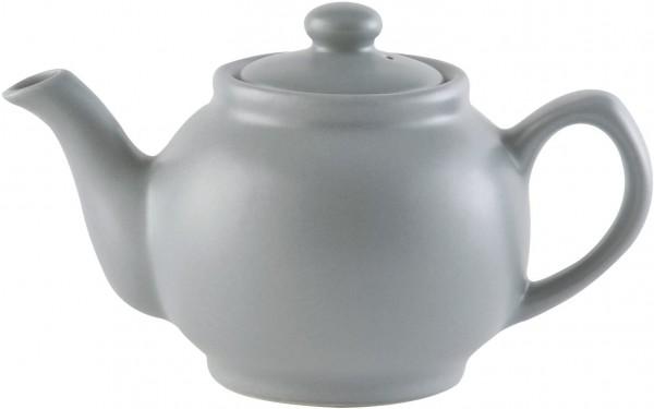 Price & Kensington, 2 Tassen Teekanne, Steingut, grau, matt 0056.725