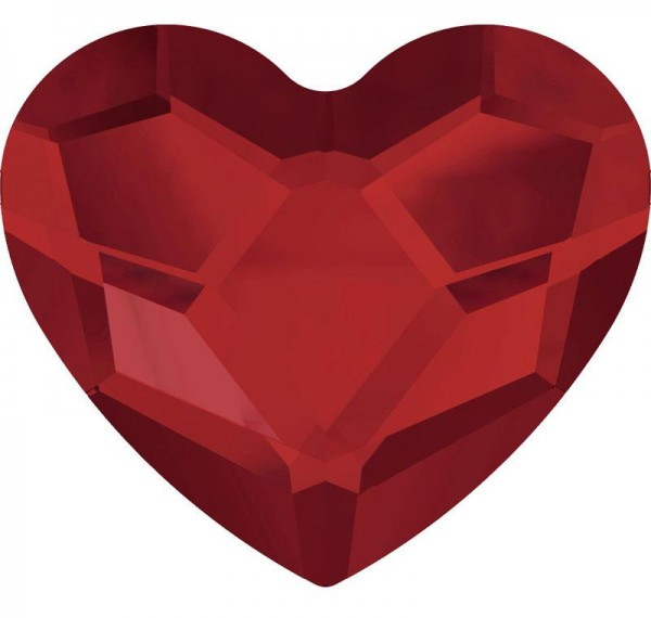 Heart 2 Rot 1016081DE Körperschmuck Makeup Art Swarovski Crystal Red