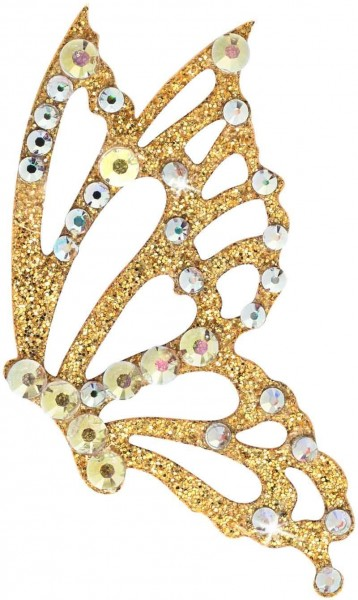 Freedom 3 Gold-Kristall AB 1016033DE Körperschmuck Swarovski Crystal