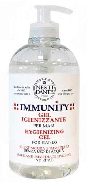 Nesti Dante Immunity 500ml Desinfektionsgel für Händy ohne Wasser mit antibakteriellem Wirkstoff Veg