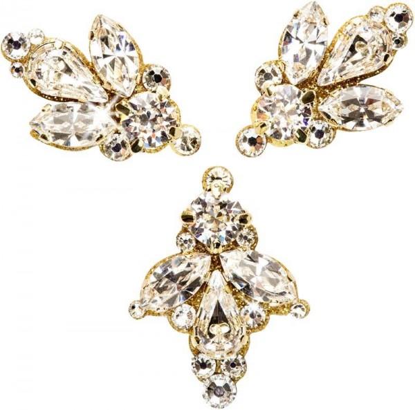 Milla Gold-Kristall 1016022DE Körperschmuck Swarovski Crystal