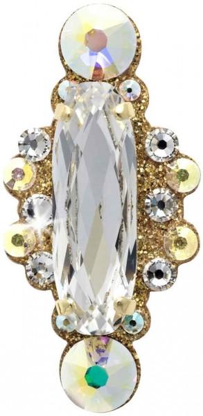 Angelina 3 Gold-Kristall 1016025DE Körperschmuck Swarovski Crystal