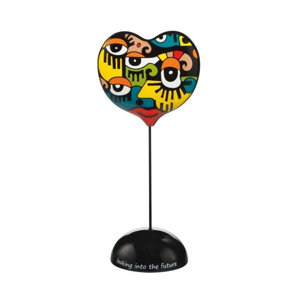 Goebel Looking into The Future - Figur Pop Art Billy The Artist Bunt Porzellan 67080401