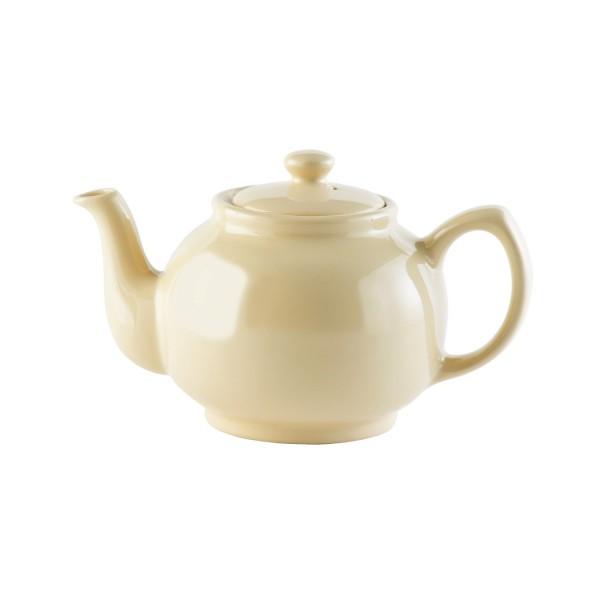 Price & Kensington - Teekanne mit Deckel - Farbe: Cream - typisch englische Teekanne - 6 Tassen 0056