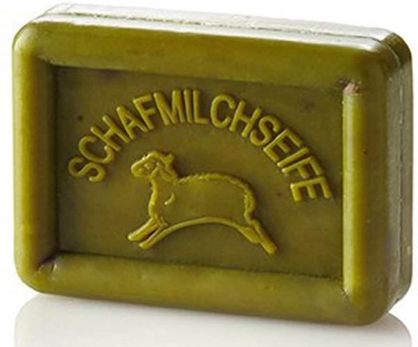 Ovis Hansen Schafmilchseife Olive grün 100g Eckig 8,5 X 6 CM 100045