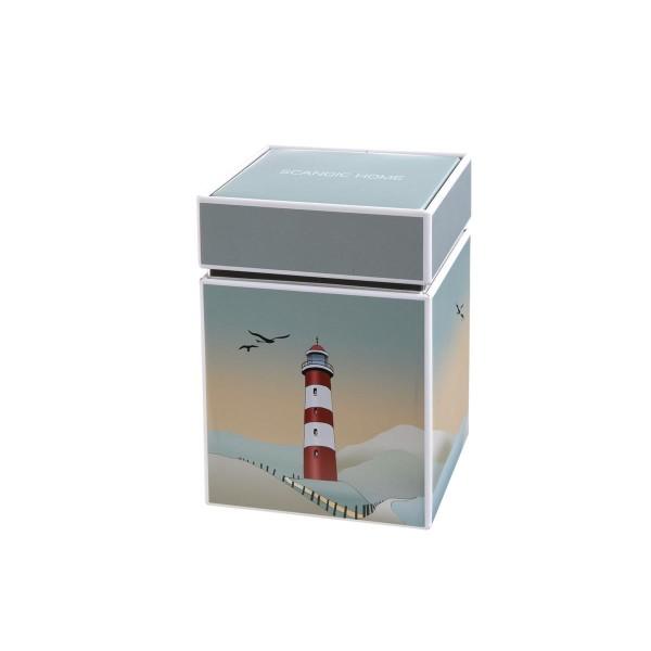 Lighthouse - Dose Bunt Scandic Home Wohnaccessoires Goebel 23101041