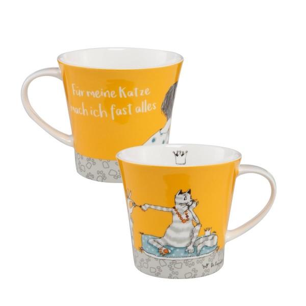 Für meine Katze - Coffee-/Tea Mug Bunt Barbara Freundlieb Goebel 27000431