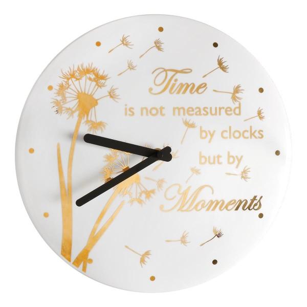 Goebel Kaiser Porzellan Wanduhr - Time and Moments mit Echtgoldauflage 14004391